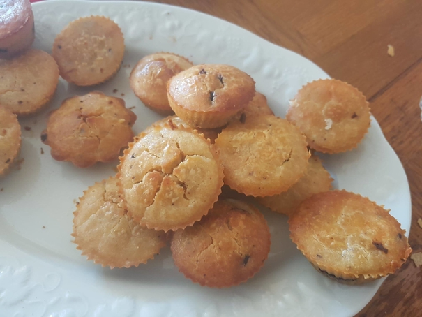 Muffins chocolat noisettes