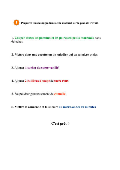 Fiches dyspraxique Compote page 2